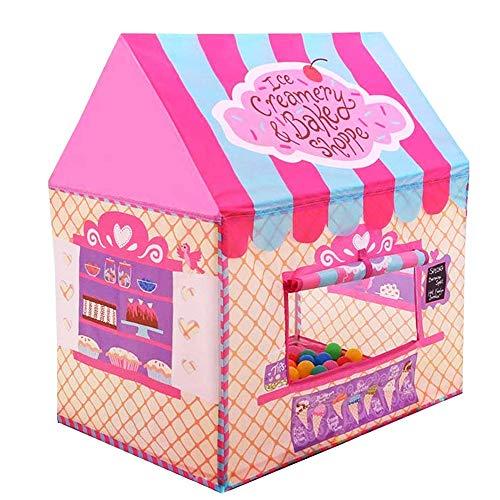 Nice2you Spielzelt für Kinder, Scherzt Zeltspielhaus für die Mädchenjungen Indoor im Freien Kinderzelt