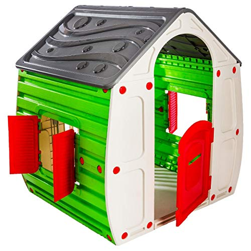 10-561 Zauberhaus Classic Farben grau grün beige rot