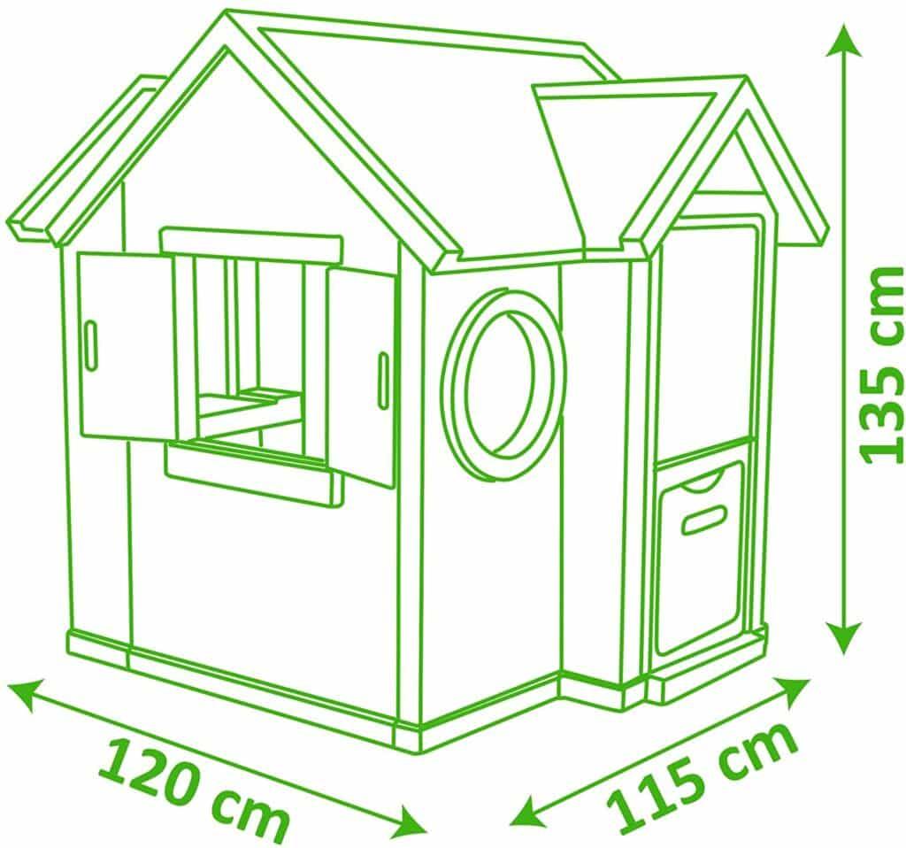 Dimensionen Smoby 810402