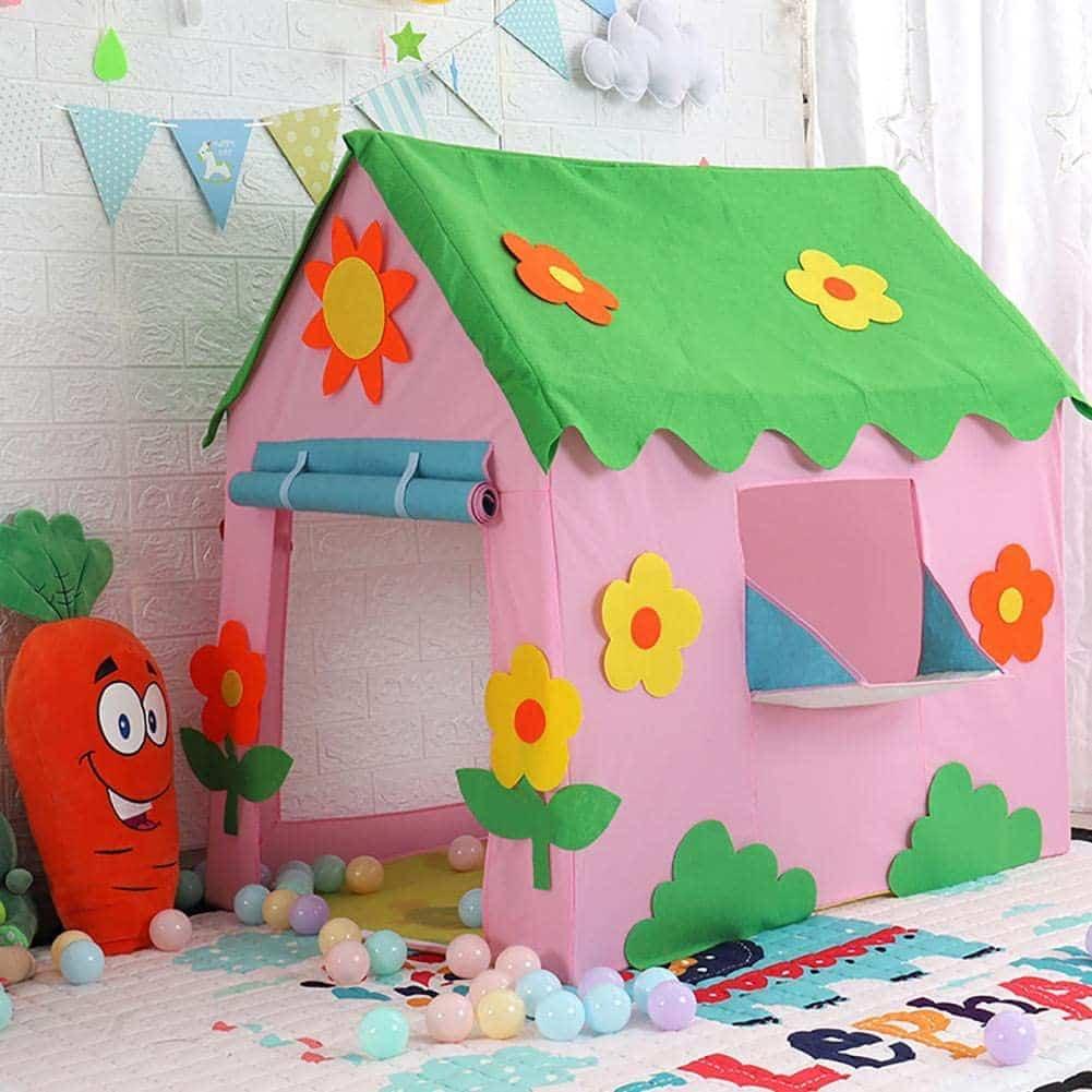 Hearthrousy Kinder Spielzelt Zelt Spielhaus Spielzelt Kinderzelt Zur Verfügung