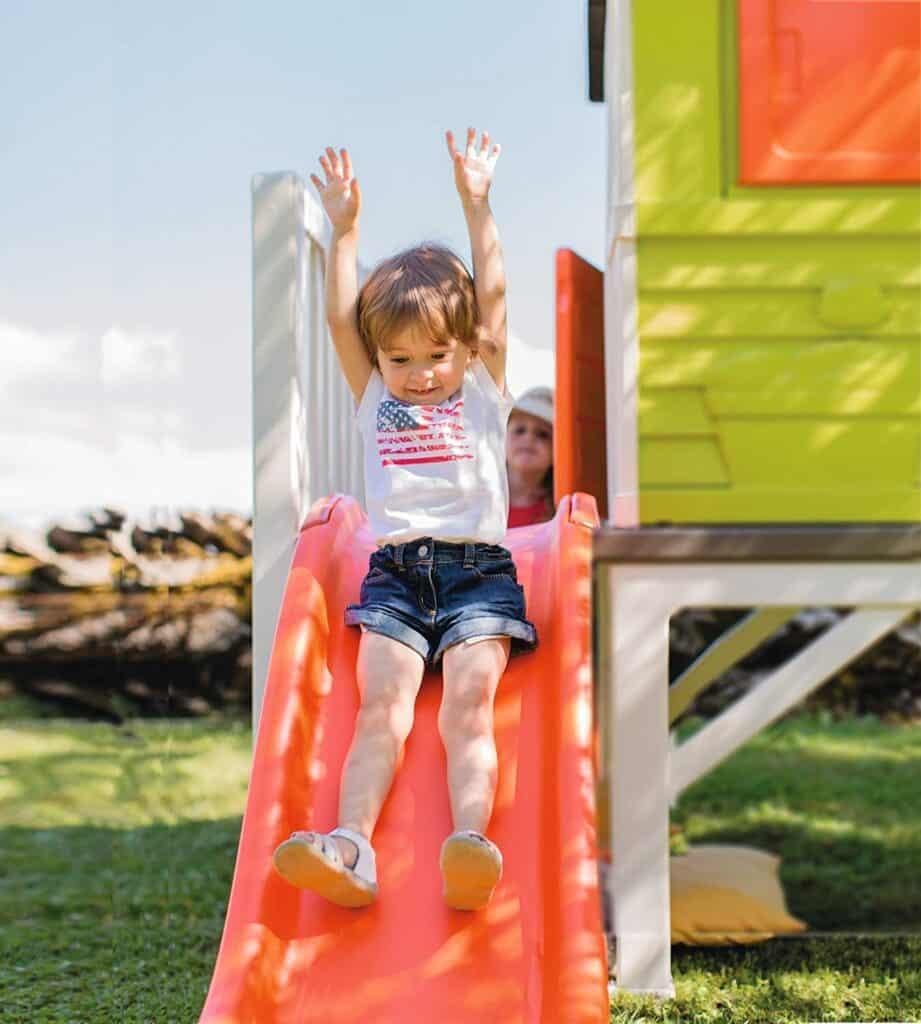 Spielparadies für Kinder unterschiedlicher Altersklassen
