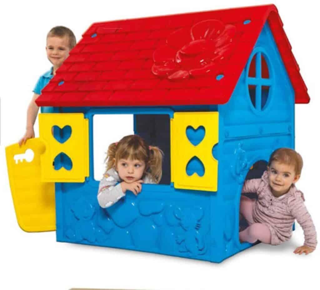Thorberg Kinderspielhaus blau-gelb-rot