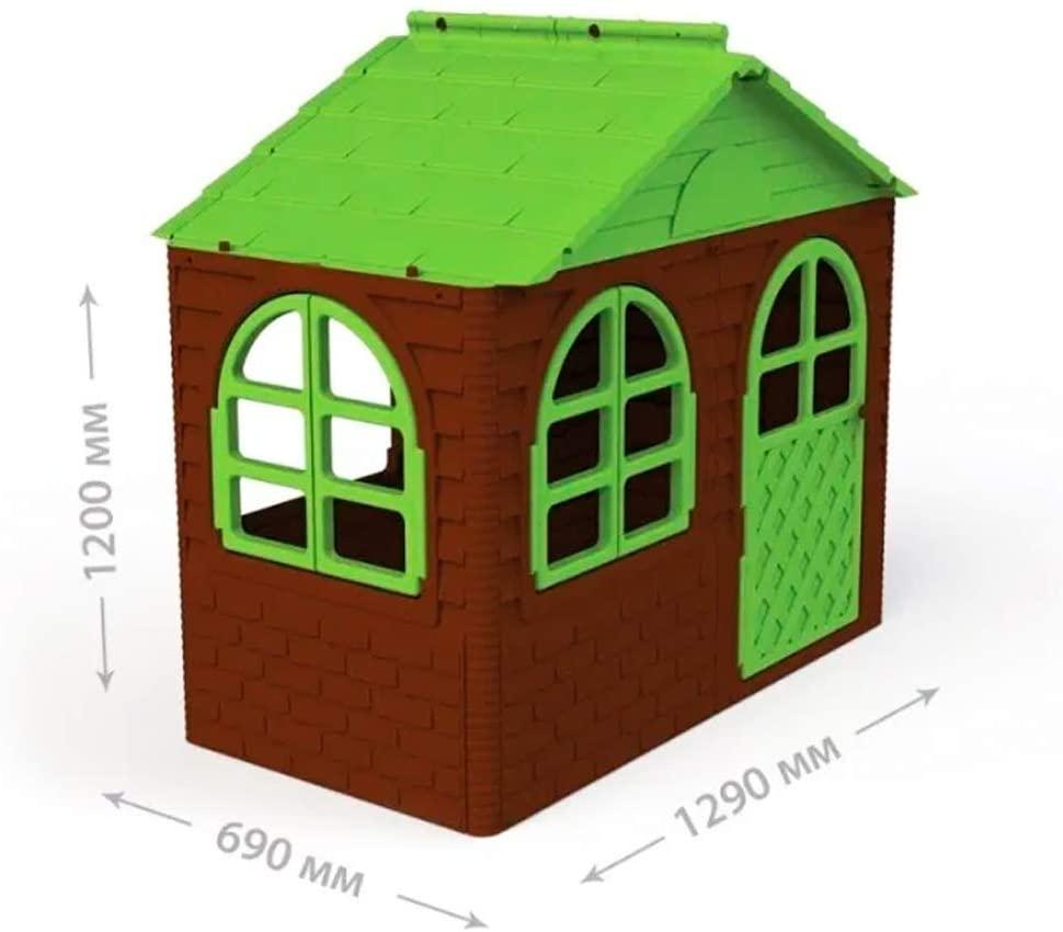 Zarenhoff Kinderspielhaus mit Gardinen