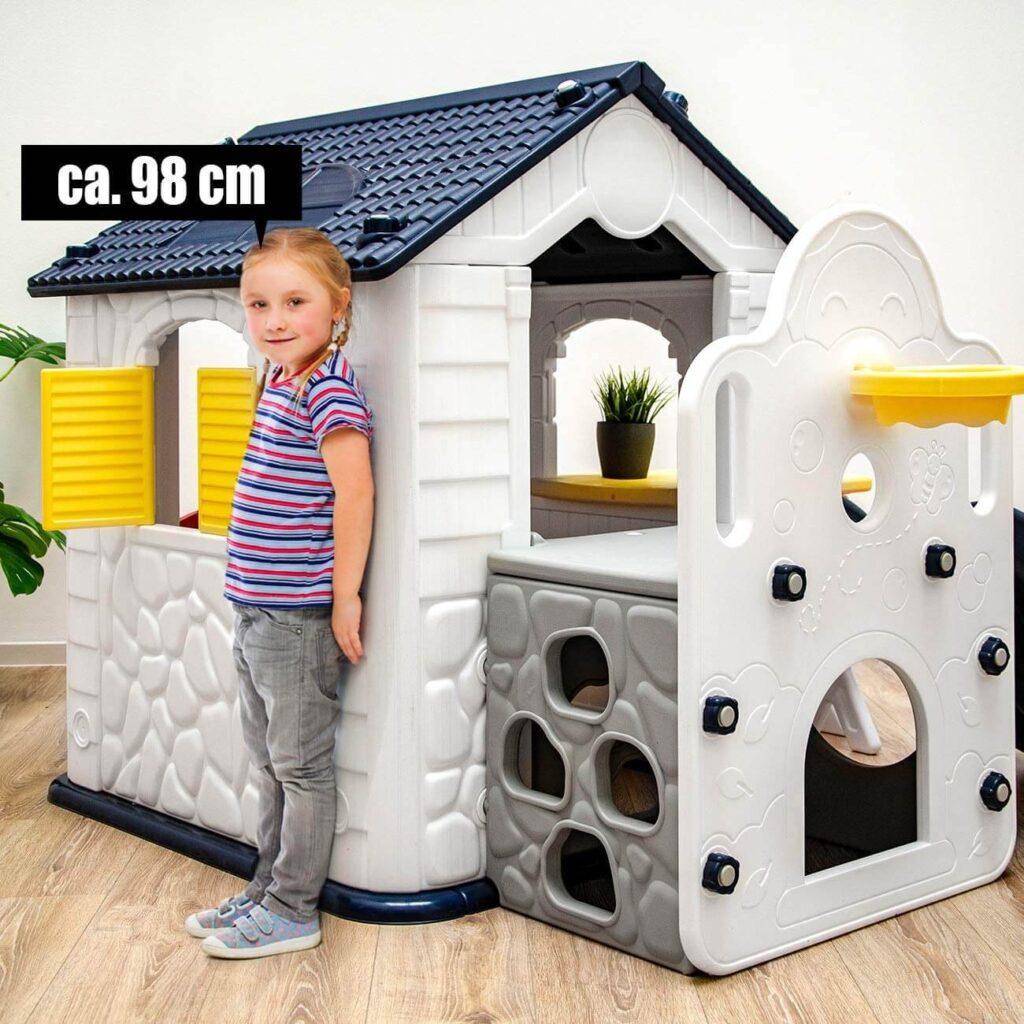 LittleTom Spielhaus mit Kind