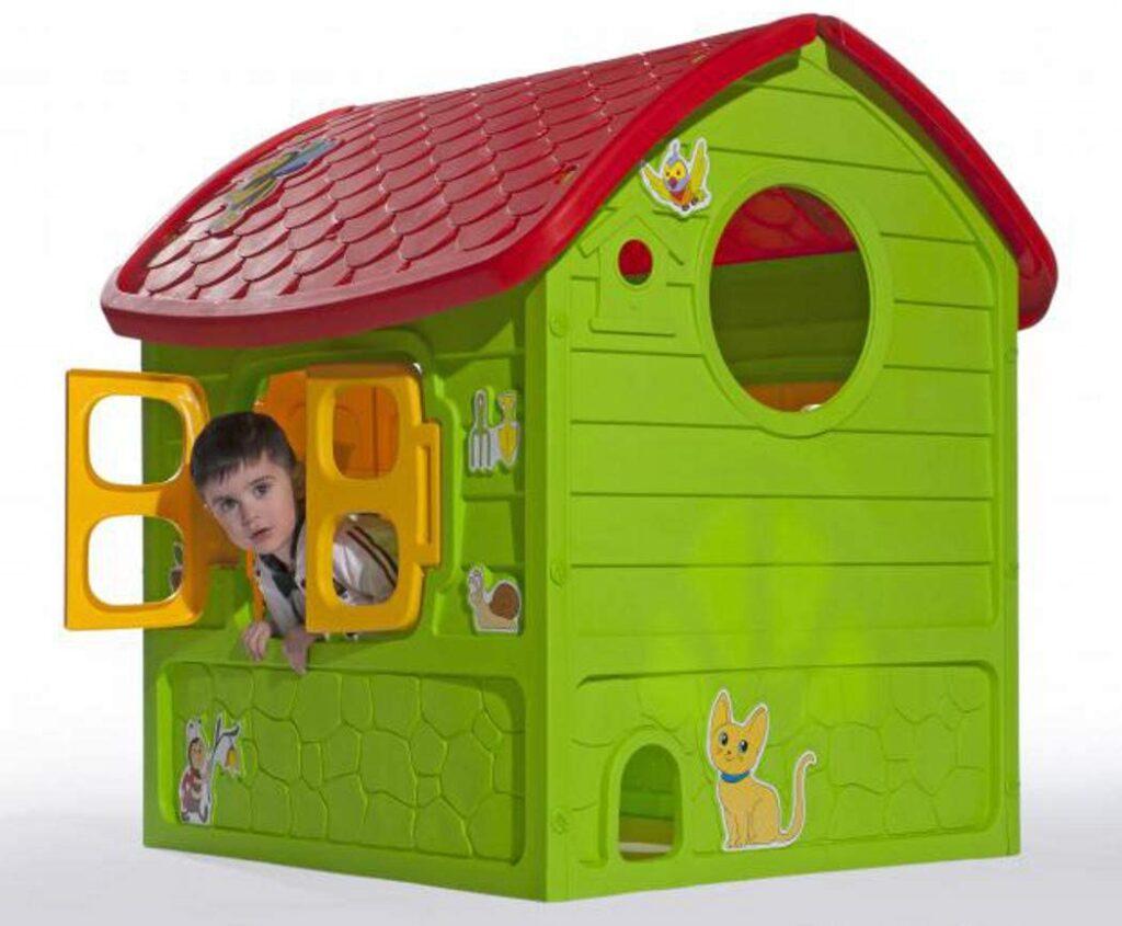 thorberg Spielhaus Maxi Kinderspielhaus extra groß 120x113x111cm