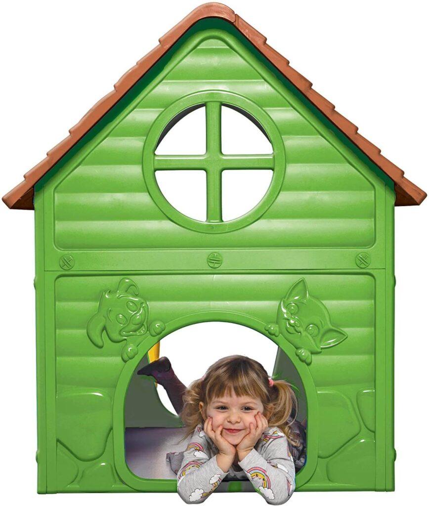Thorberg Kinderspielhaus in grün